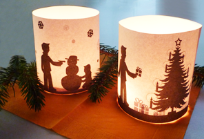 handicraft tip romantic tealight